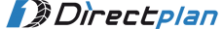 바이럴/디지털 마케팅 기획/총괄/다이렉트플랜 로고